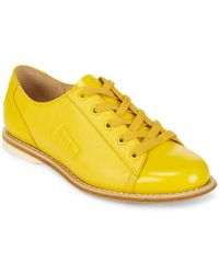 Bill Blass - Leather Casual Low Top Trainers - Lyst