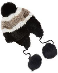 Surell - Mink Multi Knit Helmut - Lyst