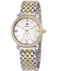 Michele - Gracile Diamond Watch - Lyst