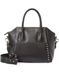 Valentino By Mario Valentino - Minimi Preciosa Leather Shoulder Bag - Lyst