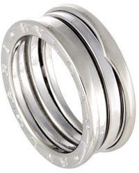 BVLGARI 18k B. Zero 1 Ring - Metallic