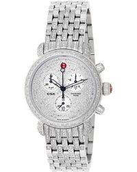 Michele - Csx-36 Ultimate Diamond Watch - Lyst