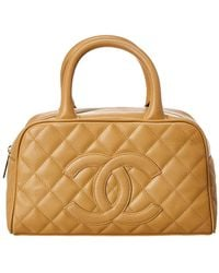 e658f71f2642 Chanel Pink Quilted Caviar Leather Timeless Cc Shoulder Bag in Pink ...