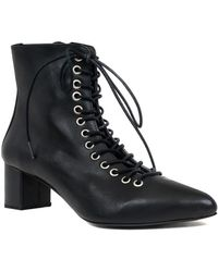 Archive Shoes - Jane Leather Bootie - Lyst