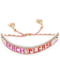 Rebecca Minkoff | Beach Please Seed Beaded Friendship Bracelet | Lyst