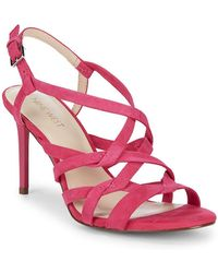 Nine West - Rainford Strappy Suede Sandals - Lyst