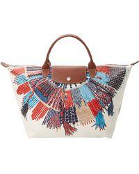 Longchamp - Le Pliage Massai Collier Top Handle - Lyst