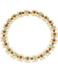 Ben-Amun - Crystal Multicolored Necklace - Lyst