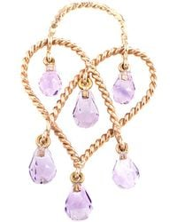 Poiray - 18k Rose Gold 1.22 Ct. Tw. Amethyst Enhancer - Lyst