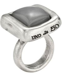 Uno De 50 - Tesela Cocktail Ring - Lyst