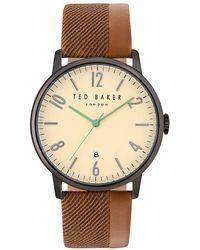 Dolce & Gabbana - Modern Vintage Genuine Leather Strap Watch - Lyst