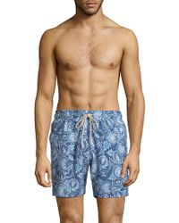 Faherty Brand - Beacon Cresent Swim Trunks - Lyst