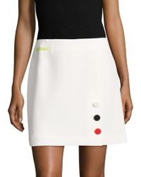 Anne Klein - Even Crepe A Line Skirt - Lyst