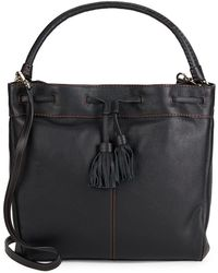 Cole Haan - Loveth Tasselled Leather Tote Bag - Lyst