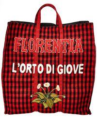 Gucci - Florenta L'orto Di Giove Tote - Lyst