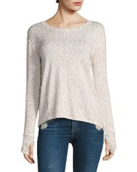 Generation Love - Alexa Leopard Sweater - Lyst