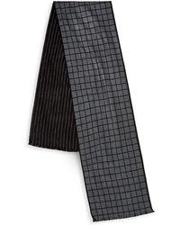 Saks Fifth Avenue - Frayed Trim Silk Scarf - Lyst