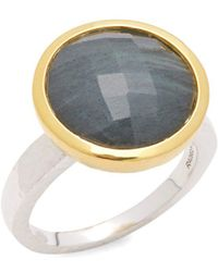 Gurhan - Labradorite And Sterling Silver Ring - Lyst