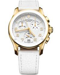 Victorinox - Unisex Chrono Classic Watch - Lyst