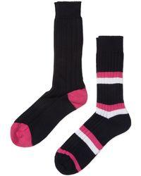 Pantherella - Heavy Guage Cotton Socks 2 Pack - Lyst