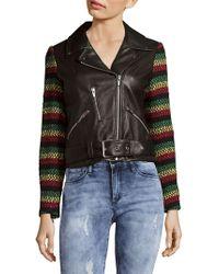 VEDA - Lion Leather Jacket - Lyst