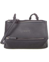 Givenchy Pandora Mini Leather Shoulder Bag - Multicolour