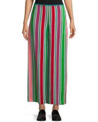 Loro Piana   Striped Wide-leg Silk Pants   Lyst