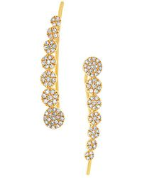 Diana M. Jewels - . Fine Jewelry 14k 0.25 Ct. Tw. Diamond Ear Crawler - Lyst