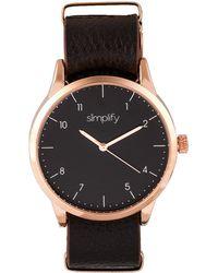 Simplify - Unisex The 5600 Watch - Lyst