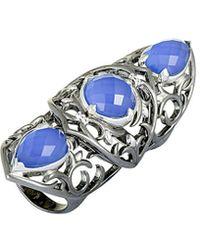 Stephen Webster - Silver & Rhodium 11.80 Ct. Tw. Gemstone Ring - Lyst