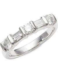 Kwiat - Sonata Diamond & Platinum Wedding Ring - Lyst
