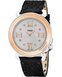 Fendi - Selleria Women's Diamond Marker Watch - Lyst