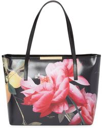 Ted Baker - Citrus Bloom Leather Tote Bag - Lyst
