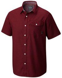 Mountain Hardwear - Drummond Cotton Shirt - Lyst