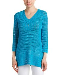 Calypso St. Barth - Tessina Linen Sweater - Lyst