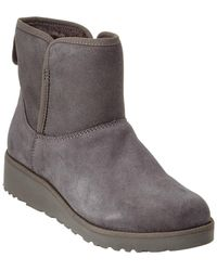 UGG Women's Kristin Water-resistant Twinface Sheepskin Boot - Gray