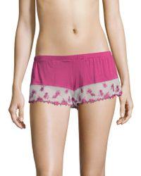 Paul & Joe Cosabella - Bette Sleepwear Tap Shorts - Lyst