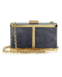 Maiyet - Butterfly Suede Box Clutch - Lyst