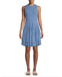 Torn By Ronny Kobo - Bryce Fit-and-flare Dress - Lyst