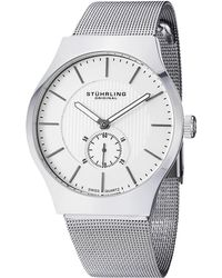 Stuhrling Original - Unisex Classic Ascot Stainless Steel Watch - Lyst