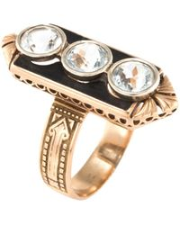 Estate Fine Jewelry - Art Deco Cocktail Ring - Lyst