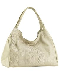 Nada Sawaya - Wynn Wynn Python & Leather Hobo Bag - Lyst
