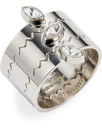 Vita Fede Jigsaw Marquise Ring