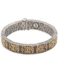 Konstantino - Artemis 18k Yellow Gold & Sterling Silver Bracelet - Lyst