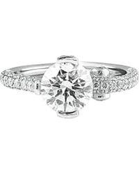 Diana M. Jewels - . Fine Jewelry Platinum 2.85 Ct. Tw. Diamond Ring - Lyst