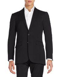 Ralph Lauren - Solid Wool Sportcoat - Lyst