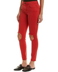 Blank NYC - Better Off Red Skinny Leg - Lyst