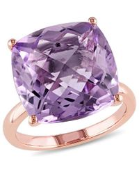 Rina Limor - Fine Jewelery 14k Rose Gold 13.35 Ct. Tw. Pink Amethyst Ring - Lyst