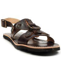 0bb8e4bfb476b Lyst - Bed Stu Aurelia Tall Huarache Sandal in Brown
