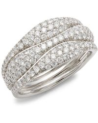 Kwiat - Moonlight Diamond & 18k White Gold Ring - Lyst